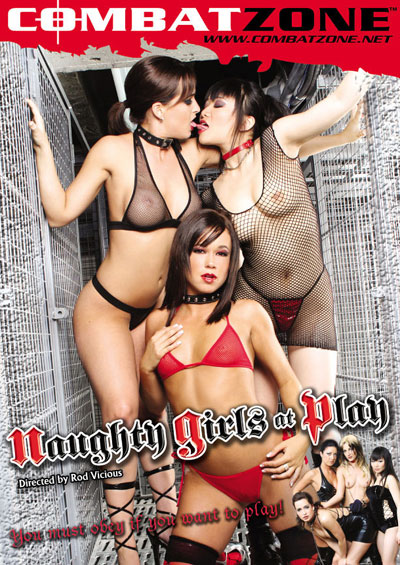 Naughty Girls At Play DVD front cover