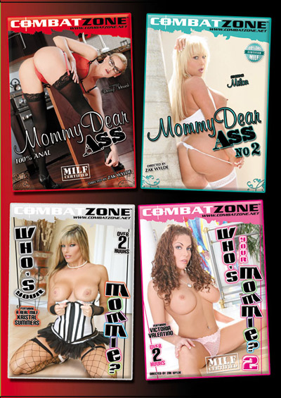 MILF Pack DVD back cover