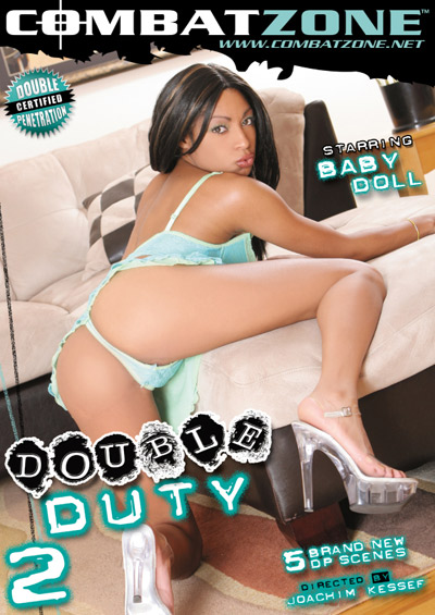 Double Duty #2 DVD front cover