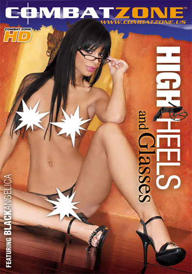 High Heels And Glasses Front Cover (PG Edit)
