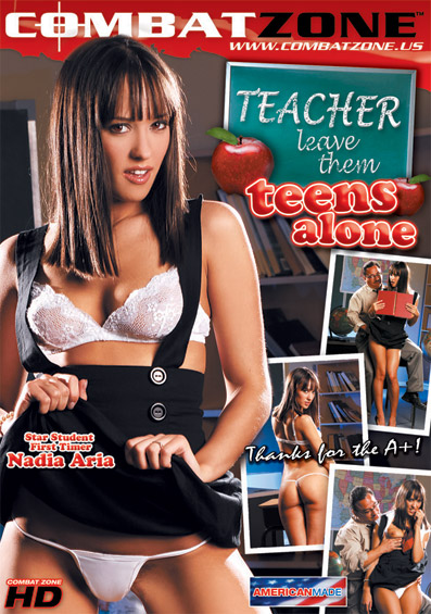 Teacher Leave Them Teens Alone DVD front cover