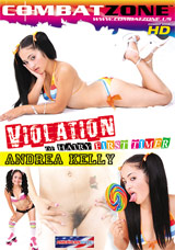 Violation Of Hairy First Timer Andrea Kelly