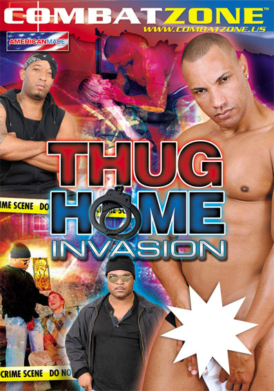 Thug Home Invasion Front Cover (PG Edit)