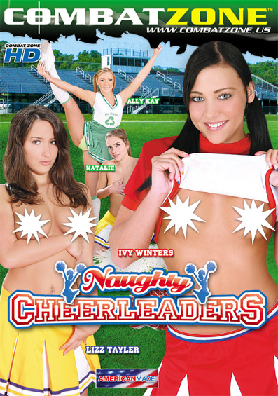 Naughty Cheerleaders Front Cover (PG Edit)