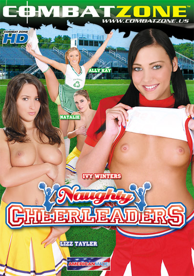 Naughty Cheerleaders DVD front cover