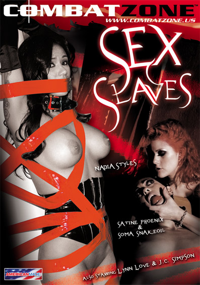 Sex Slaves DVD front cover