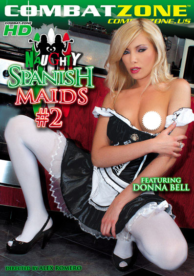 Naughty Spanish Maids #2 Front Cover (PG Edit)
