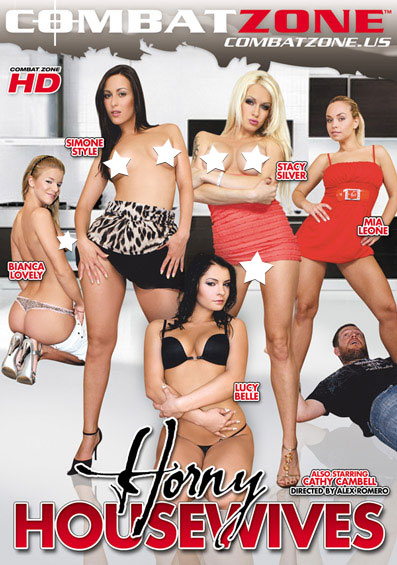 Horny Housewives Front Cover (PG Edit)