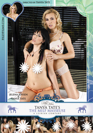 Tanya Tate's The MILF Masseuse Front Cover (PG Edit)