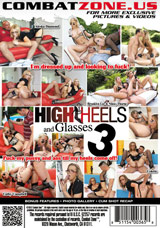 High Heels And Glasses #3 DVD back cover
