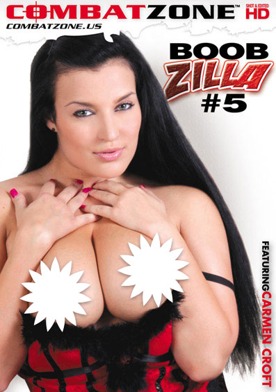 Boobzilla #5 Front Cover (PG Edit)