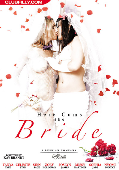 Here Cums The Bride Front Cover (PG Edit)