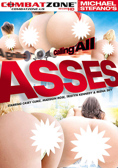 Calling All Asses Front Cover (PG Edit)