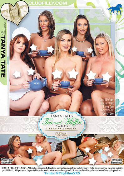 Tanya Tate's Tea And Muffin Party Front Cover (PG Edit)