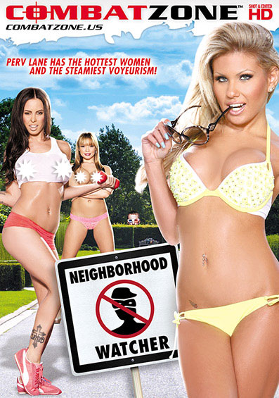 Neighborhood Watcher Front Cover (PG Edit)