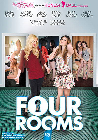 Four Rooms: Los Angeles Front Cover (PG Edit)