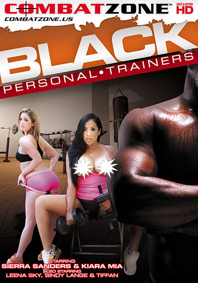 Black Personal Trainers Front Cover (PG Edit)