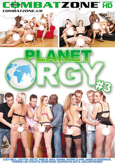 Planet Orgy #3 Front Cover (PG Edit)