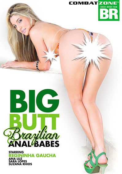 Big Butt Brazilian Anal Babes Front Cover (PG Edit)