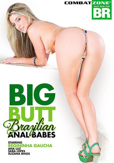Big Butt Brazilian Anal Babes DVD front cover