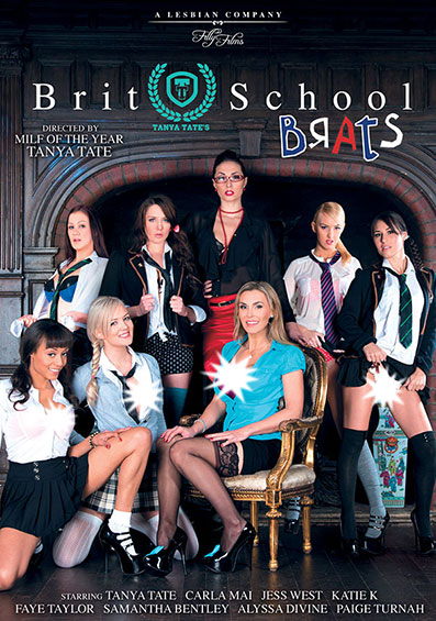 Tanya Tate's Brit School Brats Front Cover (PG Edit)