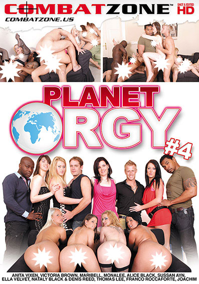 Planet Orgy #4 Front Cover (PG Edit)