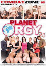 Planet Orgy #4 DVD front cover