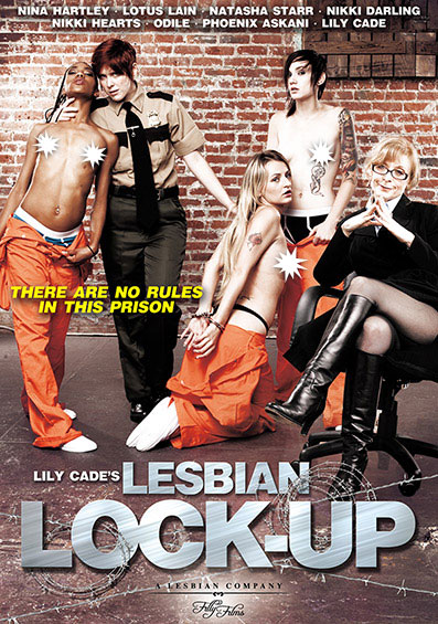 Lily Cade's Lesbian Lock-Up Front Cover (PG Edit)
