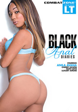 Black Anal Diaries DVD front cover