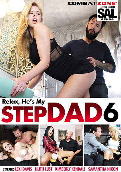 Relax He's My Stepdad #6 Front Cover (PG Edit)
