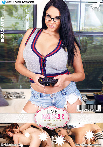 Lily Cade's Live Nerd Girls #2 Front Cover (PG Edit)
