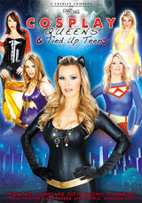 Cosplay Queens & Tied Up Teens DVD front cover