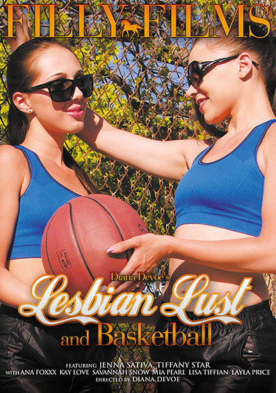 Lesbian Lust And Basketball Front Cover (PG Edit)
