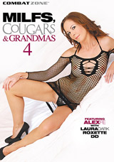 MILFS, Cougars, and Grandmas #4 DVD front cover