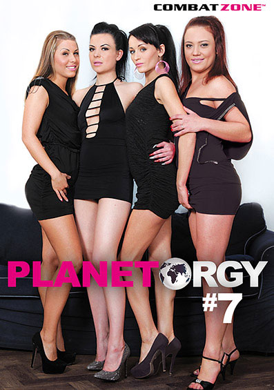 Planet Orgy #7 Front Cover (PG Edit)
