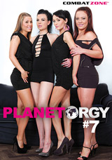 Planet Orgy #7 DVD front cover