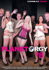 Planet Orgy #8 DVD front cover