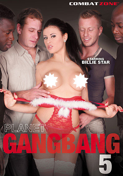 Planet Gang Bang #5 Front Cover (PG Edit)
