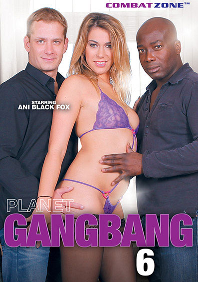 Planet Gang Bang #6 Front Cover (PG Edit)