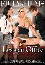Lesbian Office Romance - Front Cover