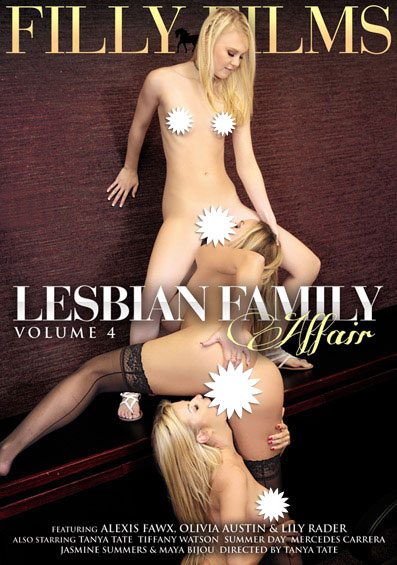Lesbian Family Affair #4 Front Cover (PG Edit)