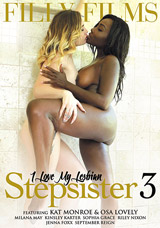 I Love My Lesbian Stepsister #3 DVD front cover