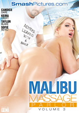 Malibu Massage Parlor #3 DVD front cover