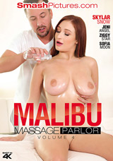 Malibu Massage Parlor #4 DVD front cover